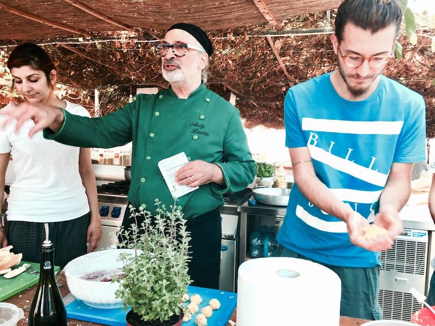 A scuola di cucina con andy luotto a gli aromi - Aromi in cucina ...