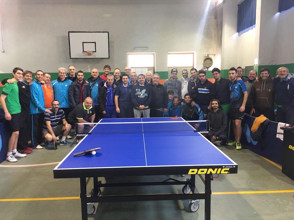 Al via ieri i campionati provinciali di tennistavolo 2017 - Stefano bosi tennis tavolo ...